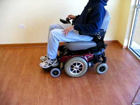 Jazzy Pride Power Wheelchair YouTube - Pride power chairs