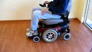 Jazzy Pride 1121 Power Wheelchair