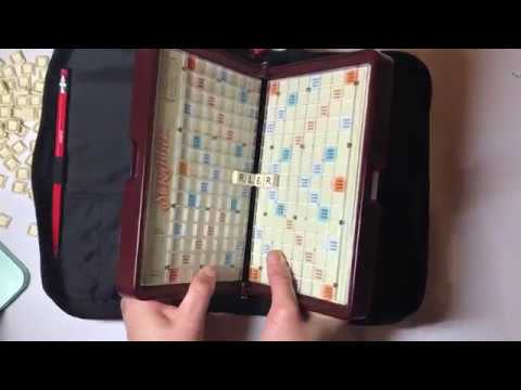 SOLD On EBAY - Scrabble Game Travel Folio | Hasbro | 2001