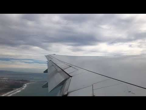 Takeoff BCN American Airlines AA 113