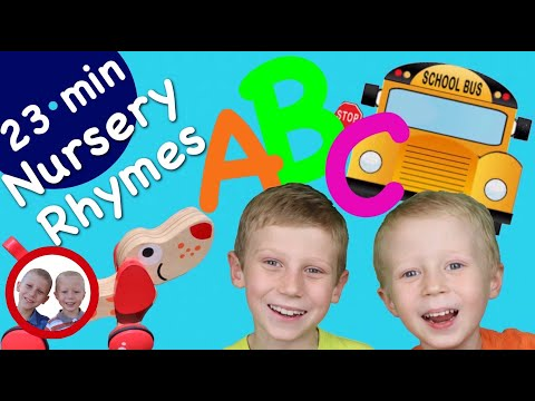 Nursery Rhymes For Kids | Bingo | ABC  Song | Old MacDonald | Row Row Row Your Boat And More