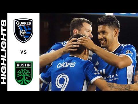 San Jose Earthquakes Austin FC Goals And Highlights