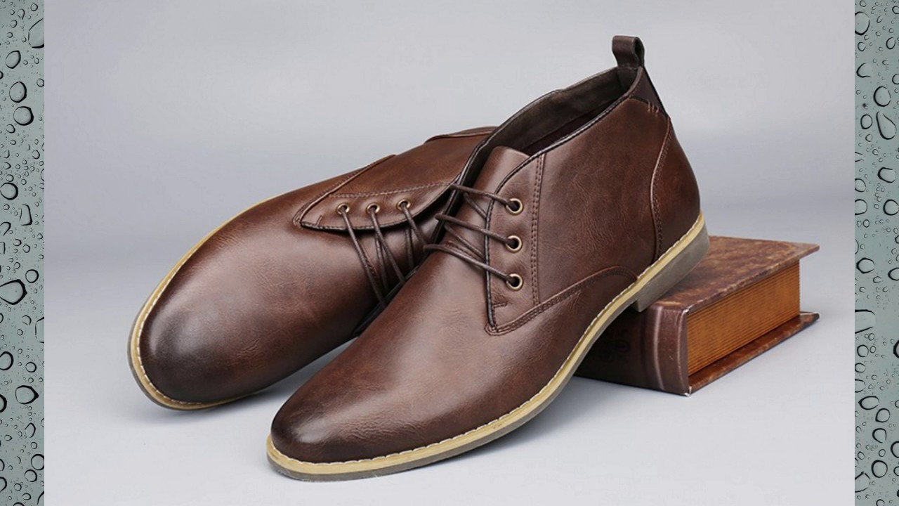 Men's Lace Up Casual Chukka Boots - YouTube
