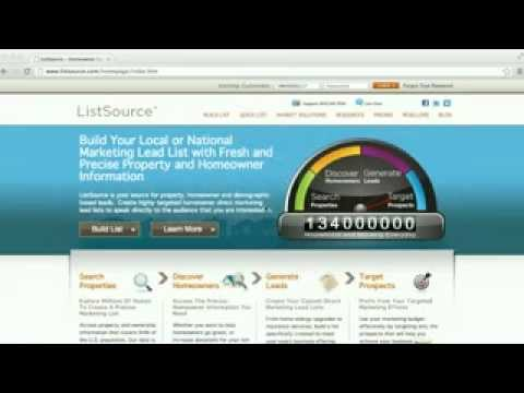 HOW TO FLIP HOUSES - Using Listsource to find Cash Buyers