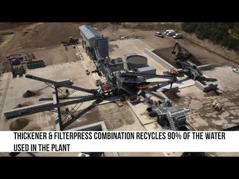 Terex Washing Systems Aggregate Recycling Washing Plant R Co