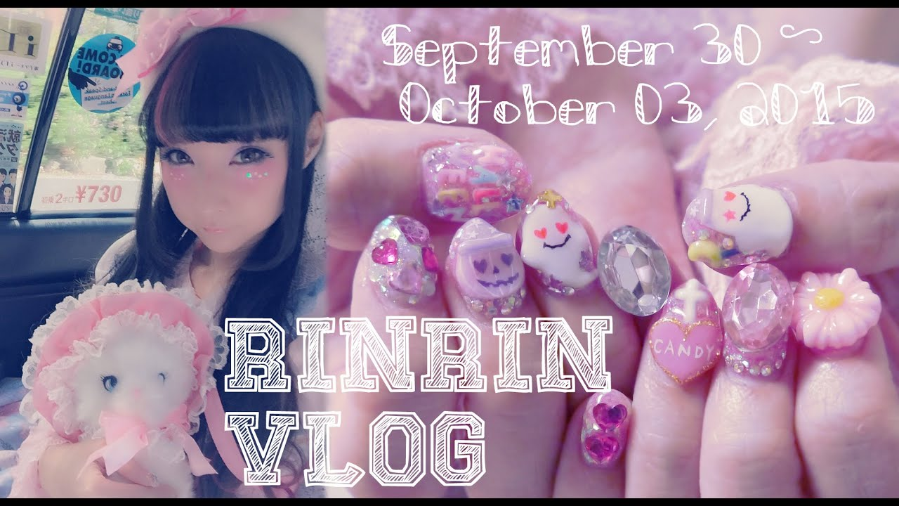 ⭐ RinRin VLOG ⭐ TLC Interview, Japan Halloween Nails, and ...