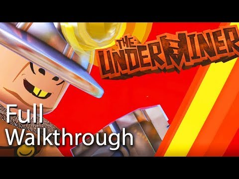 "VILLAIN ""THE UNDERMINER"" Walkthrough (Lego The Incredibles) Post Game Boss Mission 60FPS"