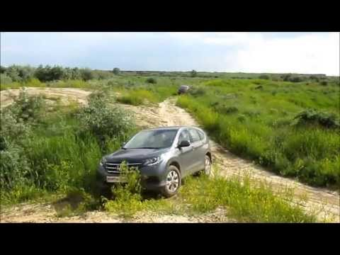 Honda CRV 2013 on&off road advert