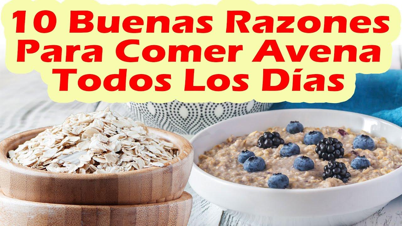 10 Buenas Razones Para Comer Avena Todos Los Días - Beneficios De La Avena Para La Salud