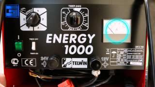 Пуско-зарядные устройства Telwin Energy(Апараты серии Energy 650, 1000 и 1500 - предназначены для пуска двигателя и зарядки свинцово-кислотных аккумуляторов..., 2013-10-28T06:47:08.000Z)