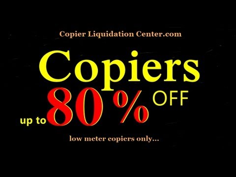 New York Copiers ... 80% OFF on BANK REPO copy machines, rental, reviews, for sale, 10003 NY