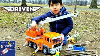 Driven Crane Truck Toy By Battat Truck Toys For Kids
