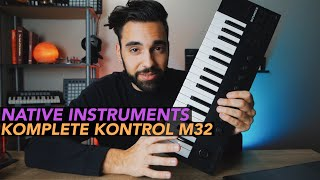 Native Instruments Komplete Kontrol M32 FIRST LOOK!