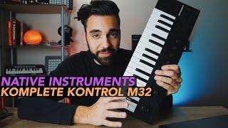Native Instruments Komplete Kontrol M32 FIRST LOOK!
