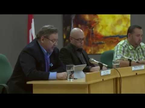 Conseil municipal de L'Ange-Gardien - Décembre 2014