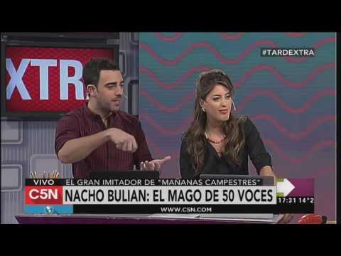 C5N - TardeXtra: la visita de Nacho Bulian, el mago de las 50 voces