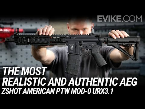 The Most Realistic and Authentic Looking AEG - ZShot American PTW Mod-0 URX3.1 Mp3