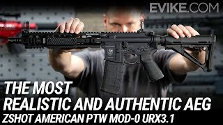 The Most Realistic and Authentic Looking AEG - ZShot American PTW Mod-0 URX3.1