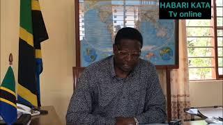 BREAKING NEWS:: Mkuu wa Mkoa Songwe aongea na vyombo vya habari