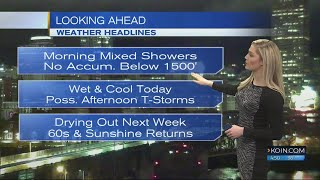 4:30am Friday Forecast KOIN 6 News March 23, 2018