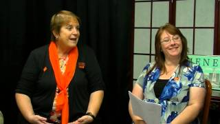 Candid Comments with SICM - YWCA Northeastern  NY - Rowie Taylor &  Angela Scott