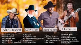John Denver, Kenny Rogers, Alan Jackson ,George Strait - เพลงคันทรี่เก่า เพราะมาก Vol. 100