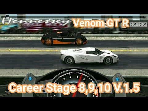 drag racing tune car venom gt r for 3 career stage level 8. Black Bedroom Furniture Sets. Home Design Ideas