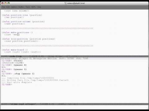 Common Lisp debugging with Slime