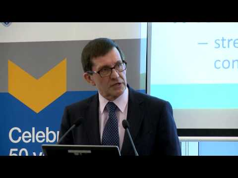Competition Policy Review seminar (Part 1 of 3) - Professor Ian Harper