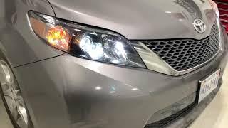 Toyota Sienna 4TL-R Bixenon Conversion