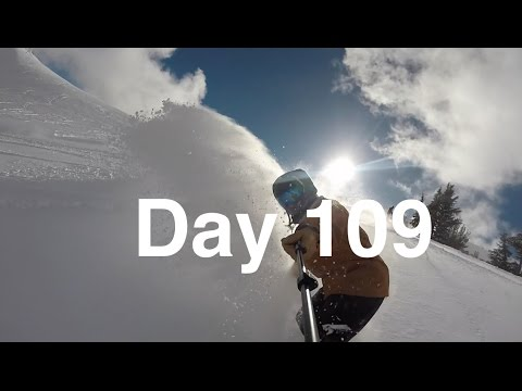 Day 109: UNGODLY Amounts of Snow!! - Kirkwood