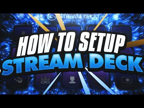 NEW Elgato Stream Deck Review! - How To Set Up For Easy OBS Streaming | iPodKingCarter