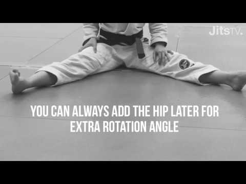 How To Stretch Your Hips - Internal Hip Rotation - Samantha Faulhaber
