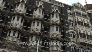 Taj Hotel in Mumbai : archival footage from before the terrorist strike