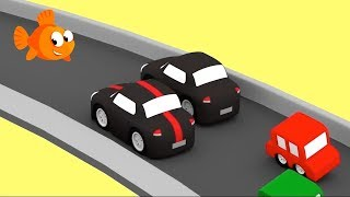 CAR CHASE #1- Cartoon Cars Compilation - Cartoons for kids - Videos for kids - Kids Cartoons