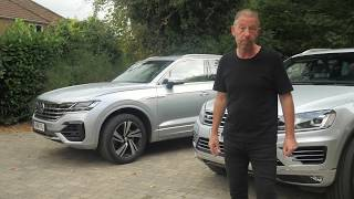 New VW Touareg compared to Old. Big Leap Forward or back | TEST DRIVE