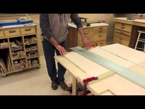The Down to Earth Woodworker: Mobile Sanding Center Part 3 - Making The Dadoes