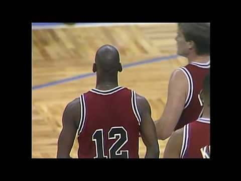 e8034e5f7dd The Time Michael Jordan Wore Number 12 In A Game | RARE! - YouTube