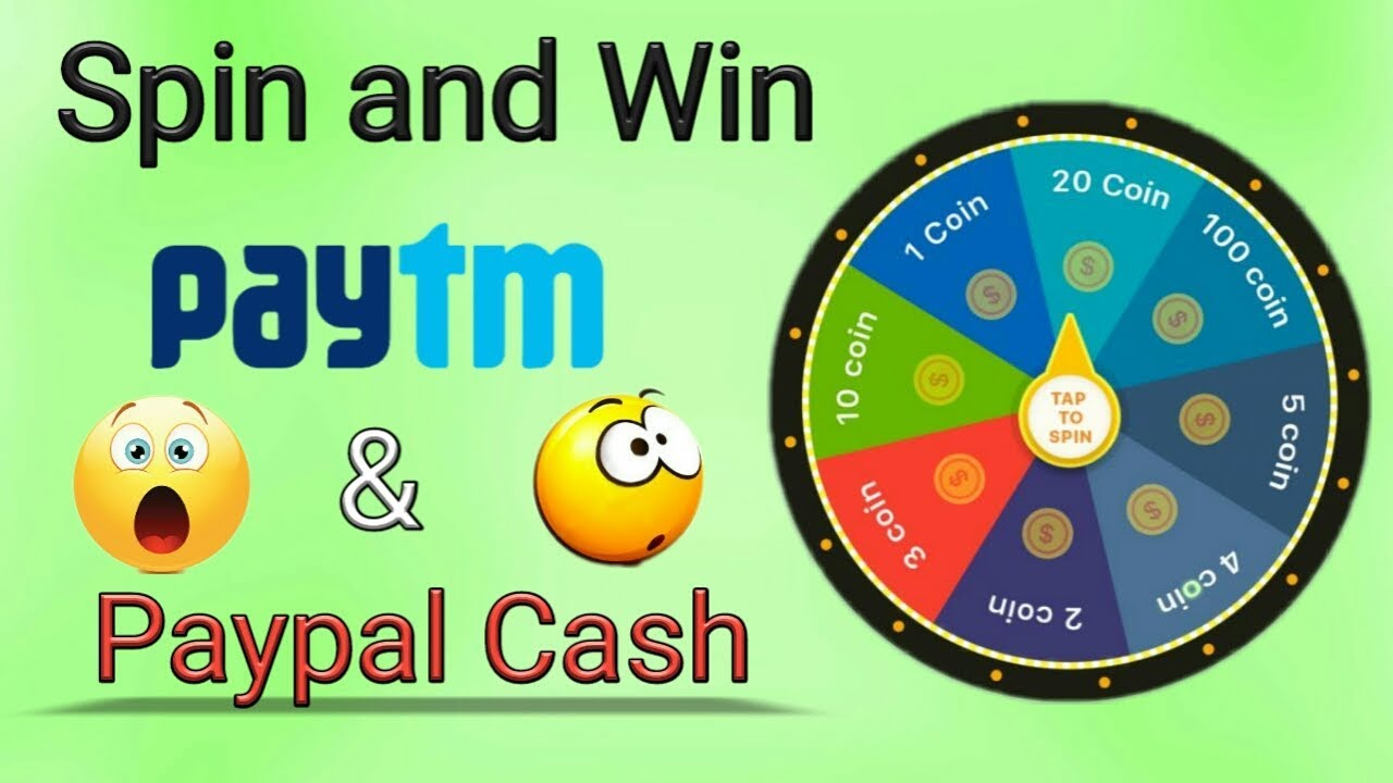 Spin To Win Paypal Cash