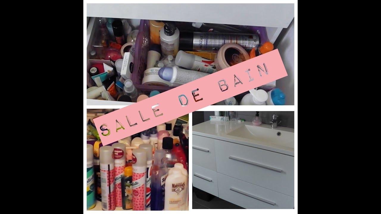 Rangement Salle De Bain Organisation Bathroom Youtube