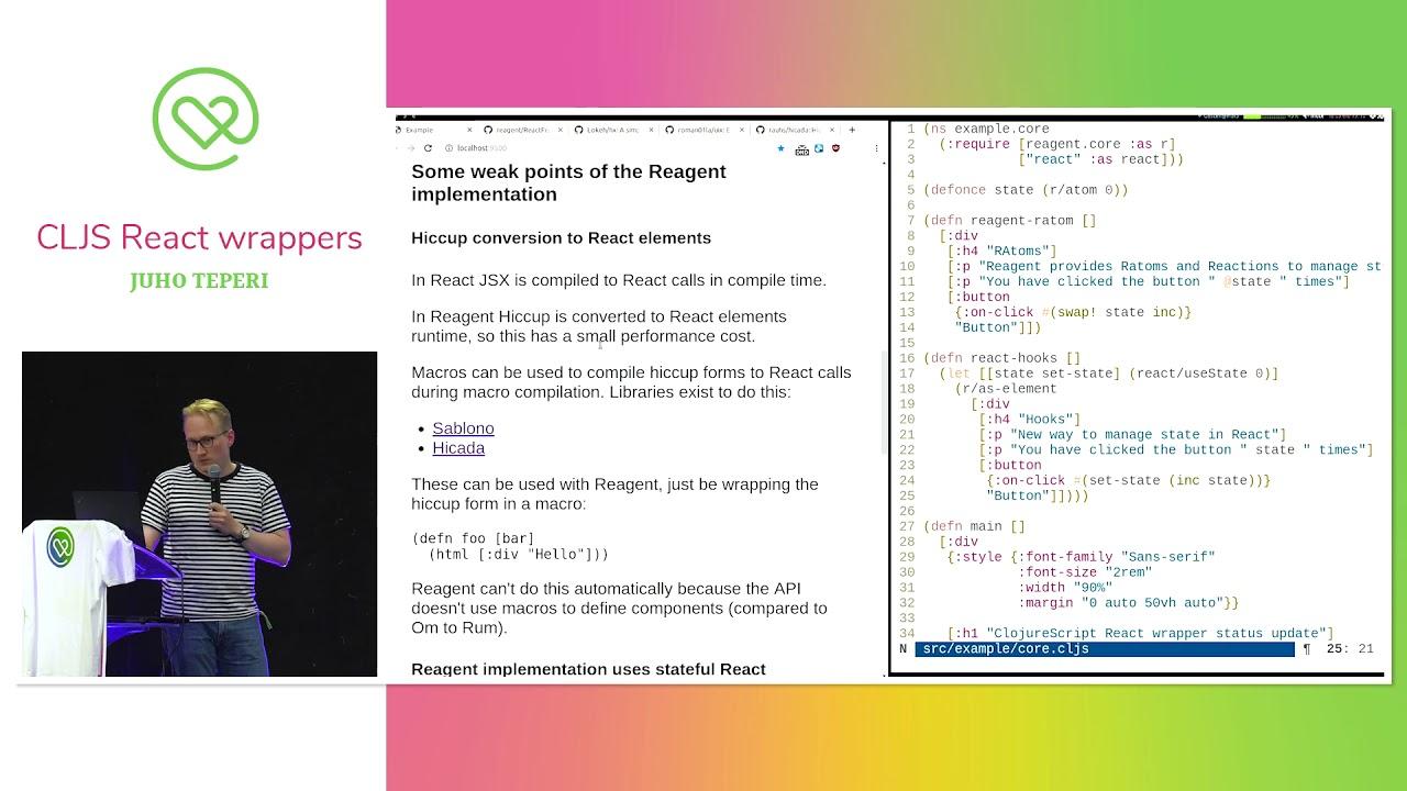 Heart of Clojure 2019 - Lightning Talks -