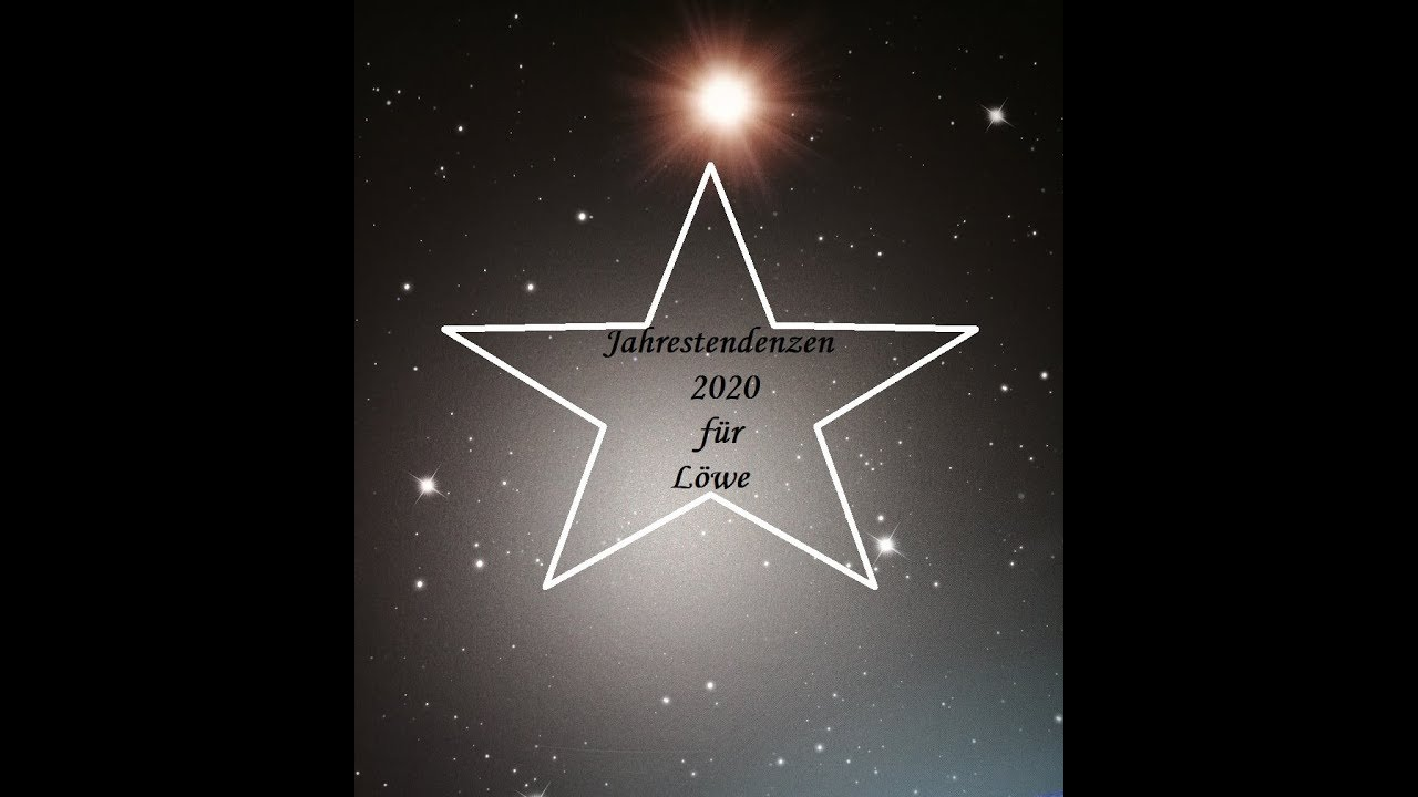 jahreshoroskop 2020 löwe