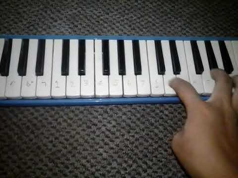 Not Lagu Bts Boy In Luv Cover Pianika Youtube