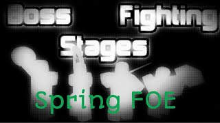 Roblox Boss Fighting Stages | Rebirth | [Spring FOE Theme]