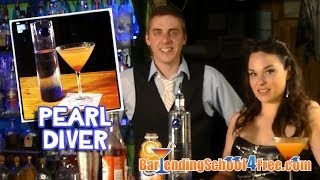 How to make a Pearl Diver (Drink Recipes)