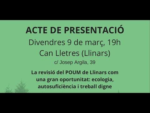 El Gaig - Acte de presentació a Llinars