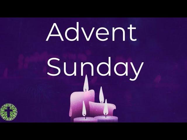 Advent Sunday at Maitland Pres!
