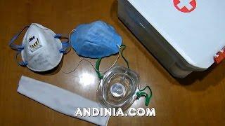 Máscaras quirúgicas o mascarillas en Primeros auxilios - Surgical Mask in First Aid