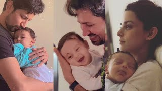Sumeet Vyas playing with his son Ved Vyas and making him smile   Ekta Kaul Newborn Son Ved Vyas