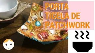 PORTA TIGELA DE PATCHWORK